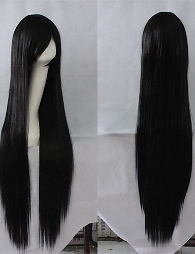 Fashion wigstyle schwarz gerade Günstige Perücken Haar Kunsthaar Perücken auf Verkauf billige