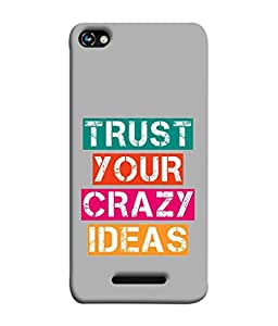 PrintVisa Designer Back Case Cover for Micromax Canvas Hue 2 A316 (Quote Life Designs Calligraphy Candinavian Art Beautiful Trendy)