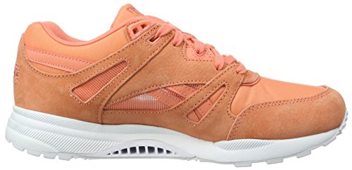 Reebok Ventilator Summer Brights, Baskets Basses Femme Orange (Coral/White)
