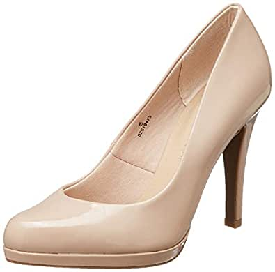 Marks & Spencer Women's Caramel Pumps-5 UK (38 EU) (T02/0640)
