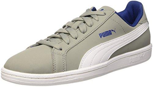 Puma Baby, Unisex Smash Fun Buck Jr, Grau (Limestone/Bianco), 38.5 EU (5.5 UK) (Buck Jungen Schuhe)