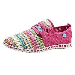 Mymyguoe Damen Bunte Gewebte Schuhe Leichte Laufschuhe Sneakers Einzelne Schuhe beiläufige Frühling und Herbst Geflochtenes Seil Low Schuhe Schlüpfen Gemütlich rutschfest