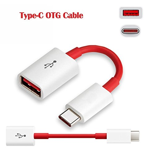 StuffGoods HTC U Play / HTC UPlay / HTC U Play OTG Cable Adapter Type C OTG Cable Type C, Original Genuine OTG Cable Adapter, C Type OTG Cable Adapter, C OTG Data Cable, C OTG USB Cable, C OTG Charger Cable, C OTG Connector, C OTG Convertor, USB 3.1 Type-C Male OTG to USB 3.0 Female, Best Lower Price High Quality OTG On The Go Cable Attach To Pendrive, Mouse, Keyboard, OTG Card Reader (RED)