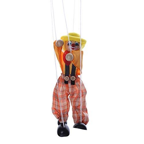 Ogquaton Juguete Payaso Marionetas Marionetas tracción