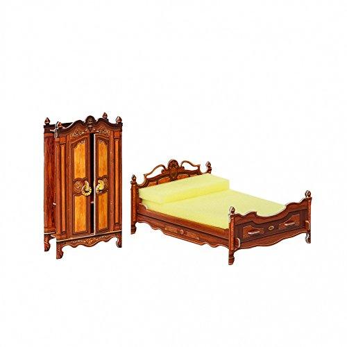 Umbum 33311x 14x 7cm Clever Papier Puppe Haus und Möbel Kollektion Schlafzimmer 3D Puzzle -