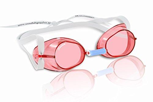 Malmsten Swedish Goggles Standard Schwimmbrille rot,Einheitsgröße