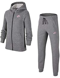 Nike Tuta Ragazza Sportswear Core Grigia cod BV3634-092