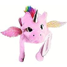 826d06da5bb8a Gorro Unicornio Peluche Rosa