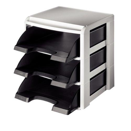 esselte-rack-modulable-3-corbeilles-a-courrier-gris-noir