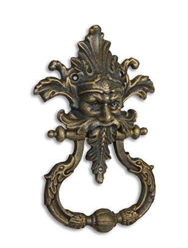 Türklopfer Medusa Gothic Gusseisen Herrenhaus Schloss Antik Stil Nostalgie Halloween Türklingel Klingel 33 x 21 x 7 cm Moritz®