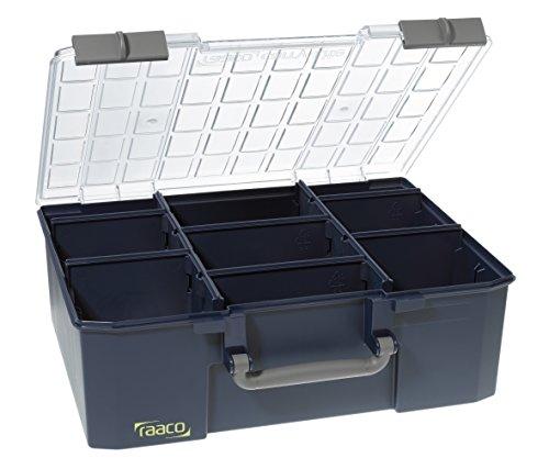 raaco Sortimentskoffer CarryLite 150-9, blau, 136341