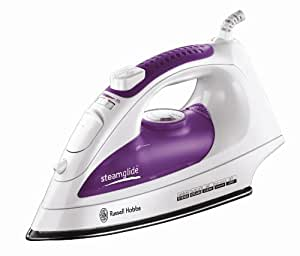 Russell Hobbs 15207 White and Purple Steamglide 2200 W Iron