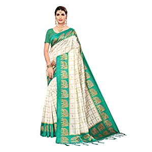 ANNI DESIGNER Silk with Blouse Piece Saree