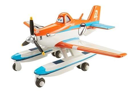 Disney - 370046 - Planes 2 - Ponton Dusty - Bombardier À Eau 5 Cm