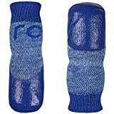 RC Pet Products Sport Pawks Dog Socks, Blue Heather (Large)