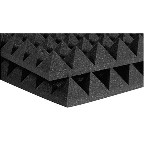 AURALEX ACOUSTICS STUDIOFOAM PYRAMID CHARCOAL 60,96CM X 121,92CM X 10,16CM Home-cinema Acoustic foam Home-cinema-equipment