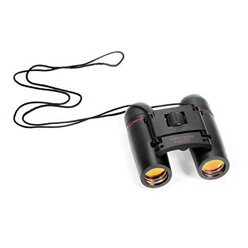 Ohuhu® Mini 30x60 Binocolo Telescopio Binoculare Zoom Pieghevole Leggero & Durevole Regolabile con Custodia Portatile e Panno Pulizia
