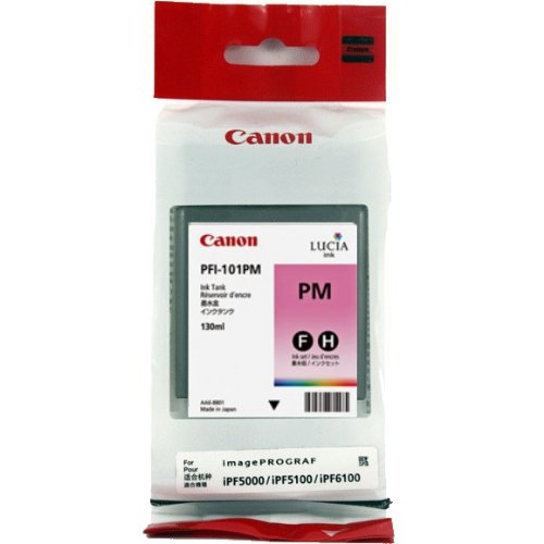 Druckerpatrone, Tintenpatrone CANON IPF5000/6000 PHOTO-MAG. IMAGE PROGRAF PFI-101PM #0888B001 (Canon Ipf5000 Tintenpatrone)