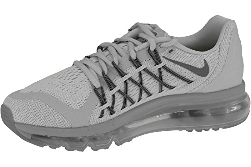 Nike Women's Air Max 2015 WMNS 698903-010 Trainers, Mehrfarbig (Grey 001), UK