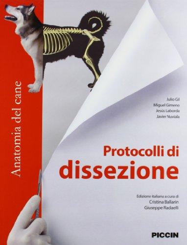 Protocolli di dissezione. Anatomia del cane