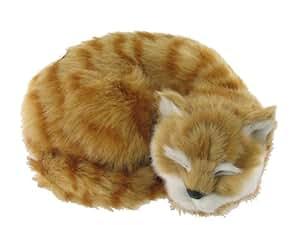 Ginger 'Meowing' Soft Cat Toy (G544) Talking Kitten Toy