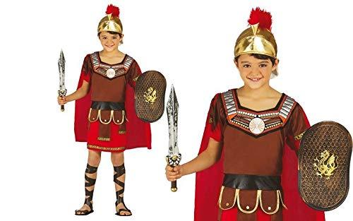 Römischer Centurio - Kostüm für Kinder Gr. 98 - 146, Größe:140/146