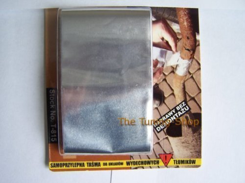 Aluminium-Klebeband, 1,2 m x 50 mm, temperaturbeständig, für Abzugsrohre geeignet
