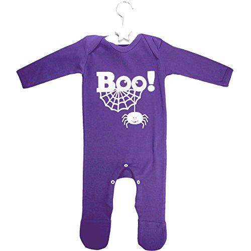 Kostüm Baby Boo - Kids Wholesale Clothing BOO! Strampelanzug lila - Halloween Kostüm Baby