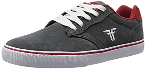 FALLEN chaussures Slash ash grey red blood Gris/Rouge-skate shoes -