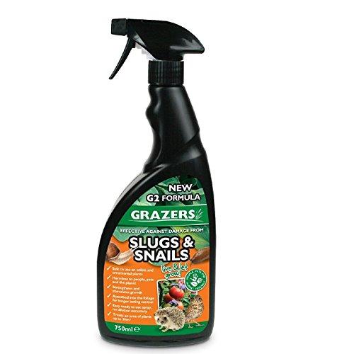 Grazers–Repelente de plagas–Protege las plantas de animales daños–750ml listo para usar Spray