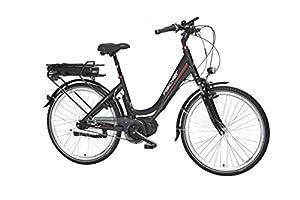 FISCHER E-Bike CITY ECU 1720, 26 Zoll, Mittelmotor 48 V/422 Wh und Rücktritt