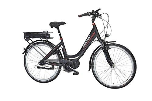 FISCHER E-Bike CITY ECU 1720, 26 Zoll, Mittelmotor 48 V/422 Wh und Rücktritt'Powered by BAFANG'