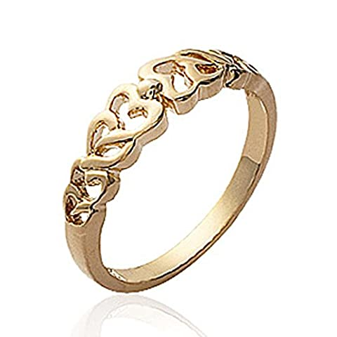 ISADY - Liesl Gold - Bague Femme - Plaqué Or 750/000 (18 carats) - Taille 60