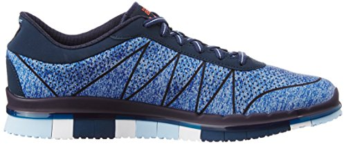 Skechers (SKEES) Go Flex - Ability, baskets sportives femme bleu (NVBL)