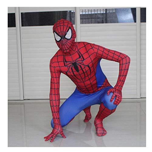 Kostüm Batman Returns - CSCLO Spider-Man Heroes Return Rollenspiele Kostüme Elastische Bodys Erwachsene Halloween Film Performance Kostüme Cosplay Kostüme (Farbe : Red, größe : XL)