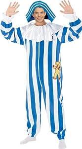 Rubbies - Disfraz de payaso para hombre, talla L (889129L)