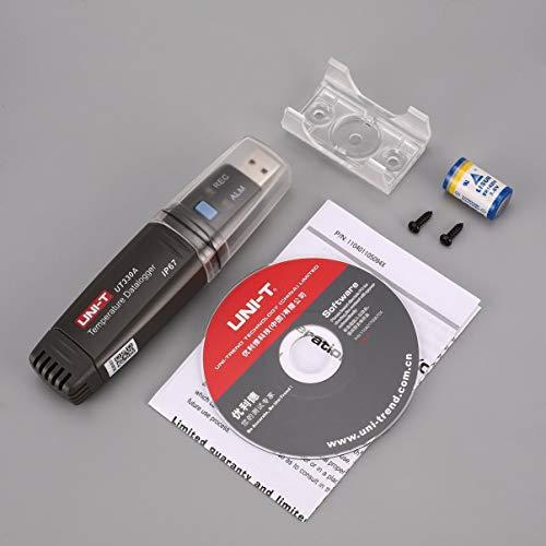 UNI T UT330A Mini Portable USB Temperatur Datenspeicher Logger Tester Thermometer Recorder 40 ℃ ~ 80 Data 6000 Sets Daten