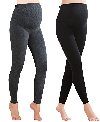 Foucome 2 Pack Maternity Legging...