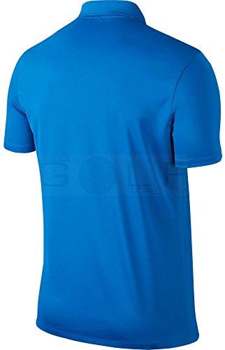 Nike–Polo per uomo Blu (Photo Blue)