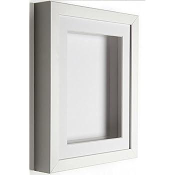 IKEA Ribba Frame, Polyester, White, 23 x 23 x 5 cm: Amazon.co.uk ...