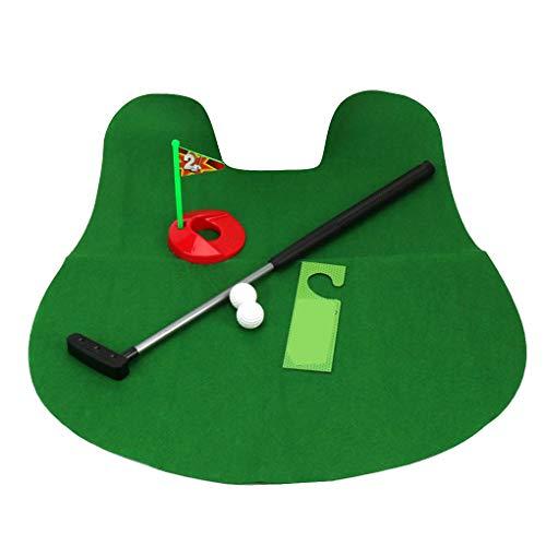 Zerama Potty WC Golf Game Mini Golf Set WC Golf Putting-Green Neuheit Spiel Männer Frauen Praktisches Spielzeug