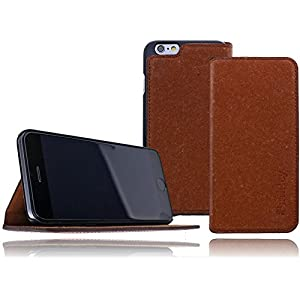 Beste iPhone 6 Flip-Cases: Burkley Book Style Leder-Case