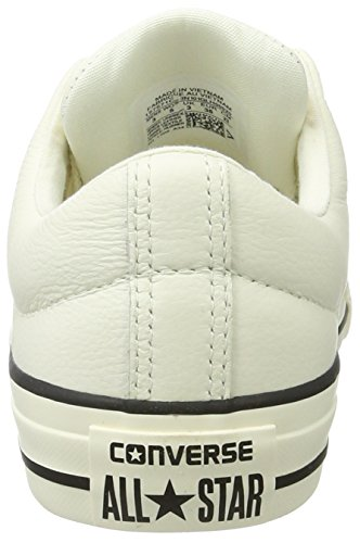 Converse Chuck Taylor All Star High Street, Basses Mixte Adulte Weiß (Egret/Black/Egret)