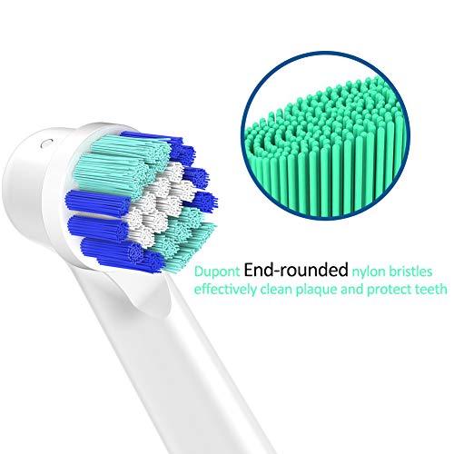 Compatible Braun Oral b recambios para cepillo, cabezales de repuesto Compatible Eléctrico recargable Oral- B Precision Clean eb20 (16)