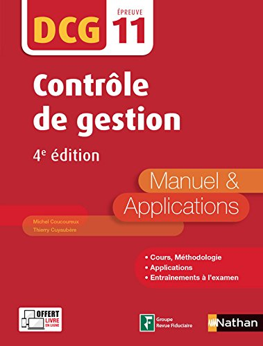 Contrôle de gestion - DCG 11 - 4e édition