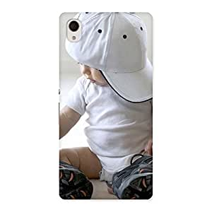 Delighted Hip Hop Cute Boy Back Case Cover for Sony Xperia M4