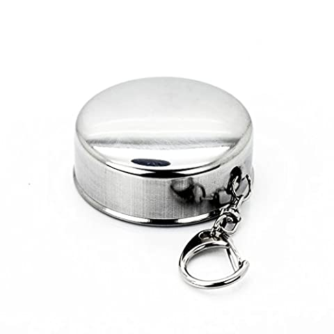 New Hot Stainless Steel Portable Cup for Outdoor Travel Camping,Folding Collapsible Stainless Cup-4 6 10