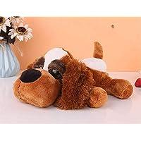 anlala Plush Dog Figurine Syndpuppy Toy Hyena Doll Girl Super Cute Cute Wedding Ling Small Gift Small Gift 25×22Cm Dark Brown