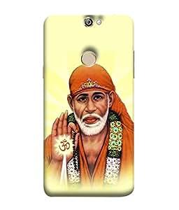 Fuson Designer Back Case Cover for Coolpad Max A8 (God Lord Bhagwan Blessings Ashirwad)