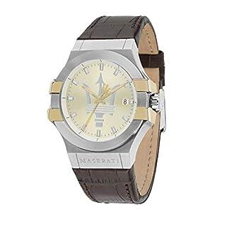 Reloj para Hombre, Colección Potenza, en Acero, Cuero – R8851108017